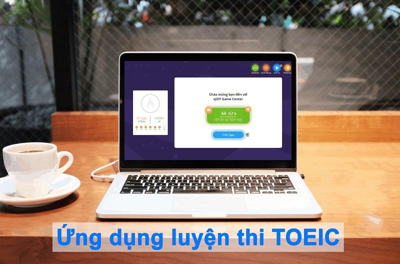 ứng dụng luyện thi TOEIC