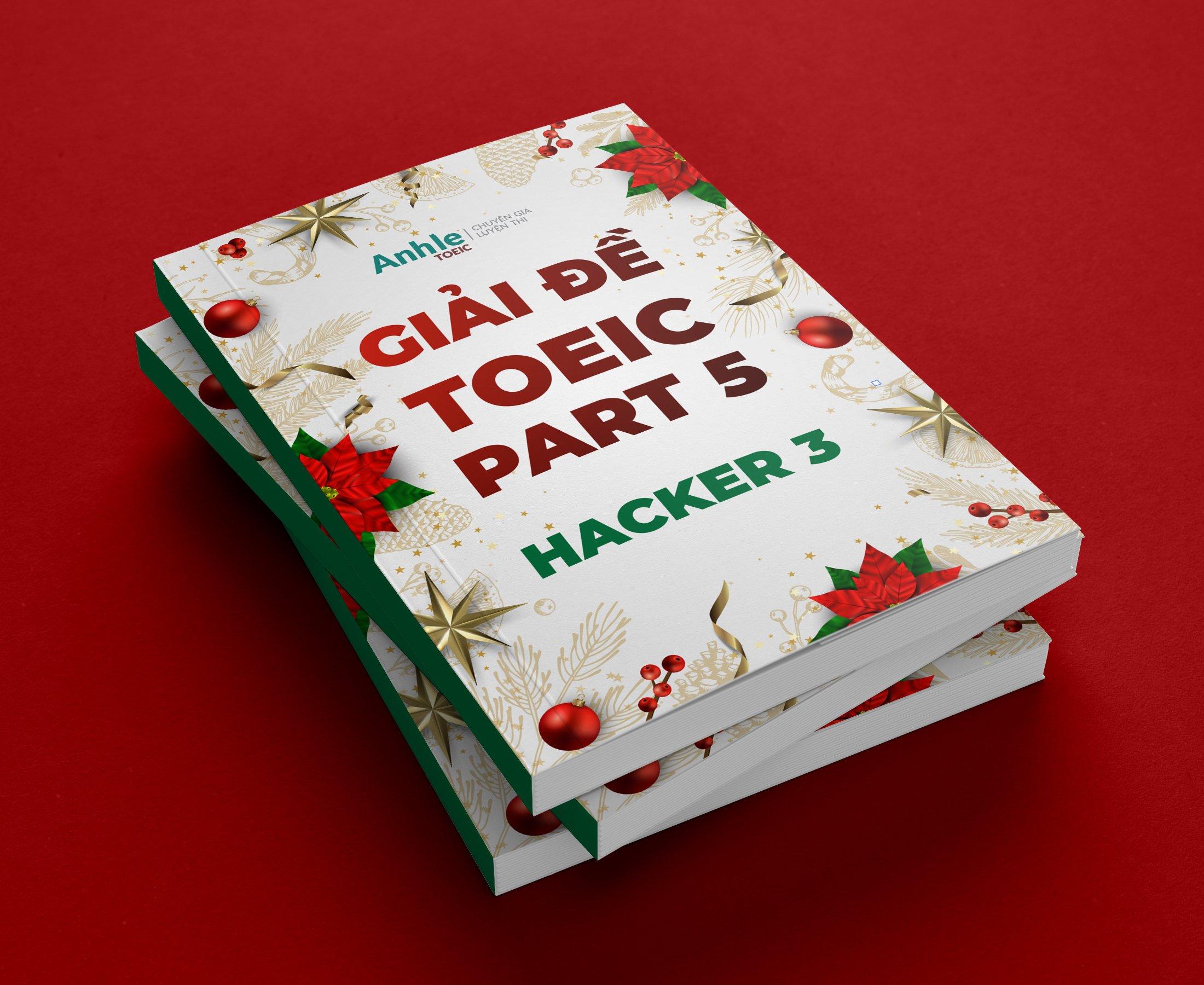 Giải chi tiết Hacker Toeic Part 5