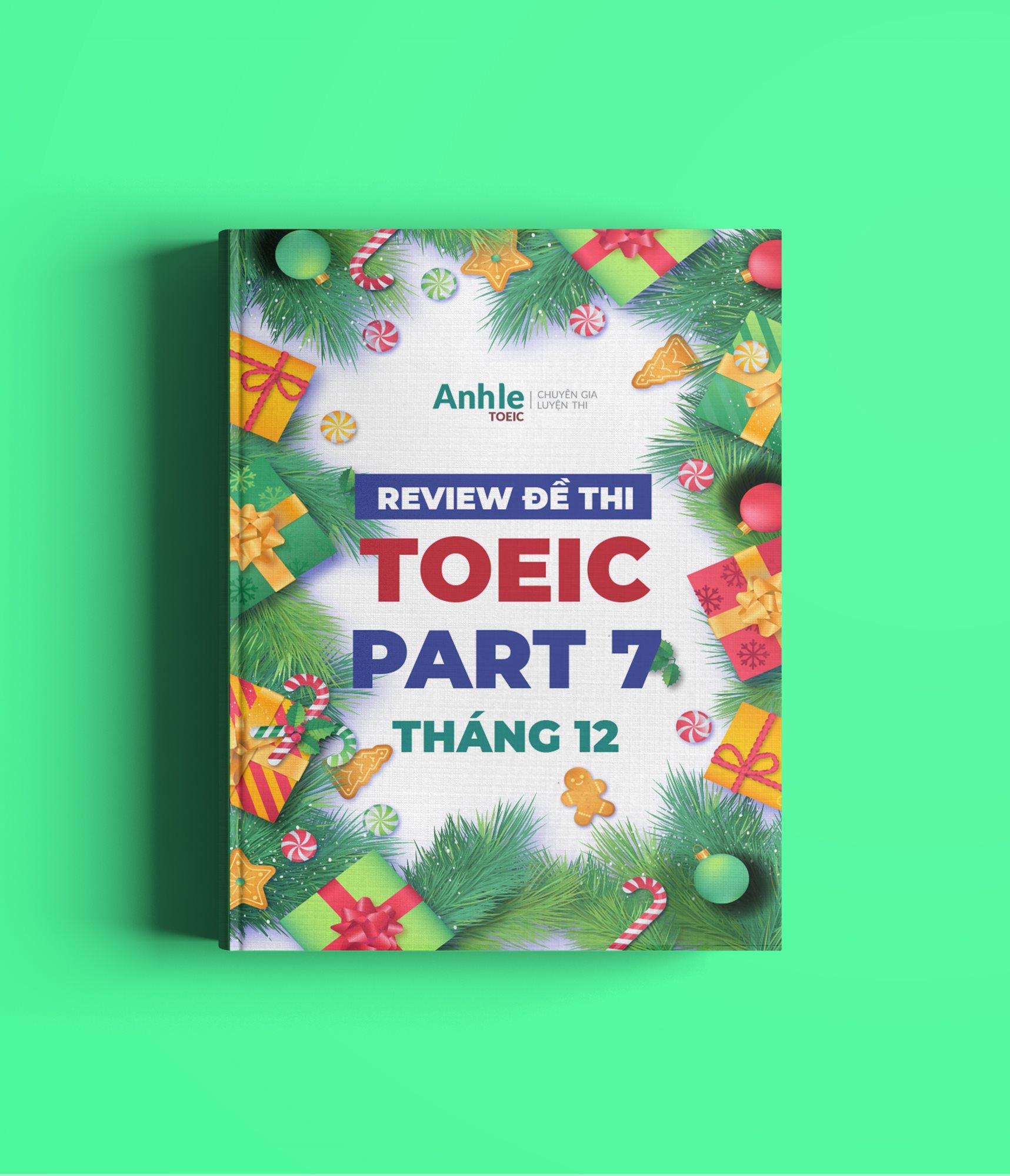 toeic part 7
