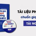 giáo trình american accent training
